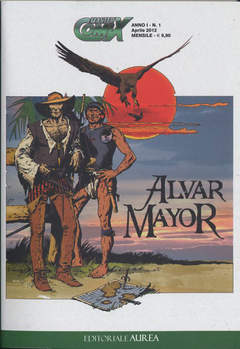 Copertina MASTERCOMIX n.1 - ALVAR MAJOR, EDITORIALE AUREA