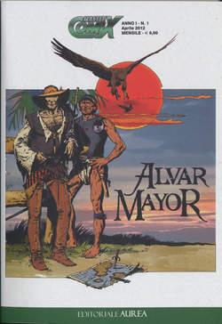 Copertina MASTERCOMIX n.1 - ALVAR MAYOR, EDITORIALE AUREA