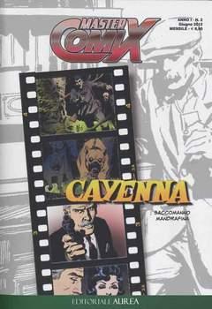 Copertina MASTERCOMIX n.2 - CAYENNA, EDITORIALE AUREA