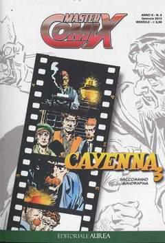Copertina MASTERCOMIX n.9 - CAYENNA, EDITORIALE AUREA