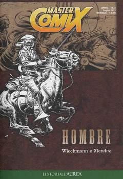 Copertina MASTERCOMIX n.3 - HOMBRE, EDITORIALE AUREA