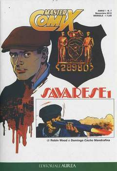 Copertina MASTERCOMIX n.7 - SAVARESE, EDITORIALE AUREA