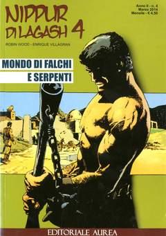 Copertina NIPPUR DI LAGASH n.4 - MONDO DI FALCHI E SERPENTI, EDITORIALE AUREA