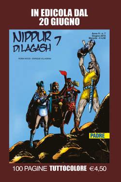 Copertina NIPPUR DI LAGASH n.7 - PADRE, EDITORIALE AUREA