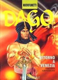 Copertina NUOVIFUMETTI n.1 - DAGO 1-RITORNO A VENEZIA, EDITORIALE AUREA