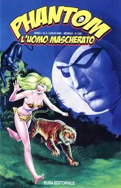 Copertina PHANTOM L'UOMO MASCHERATO n.3 - PHANTOM 3, EDITORIALE AUREA