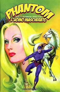 Copertina PHANTOM L'UOMO MASCHERATO n.5 - PHANTOM 5, EDITORIALE AUREA