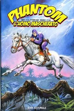 Copertina PHANTOM L'UOMO MASCHERATO n.6 - PHANTOM 6, EDITORIALE AUREA