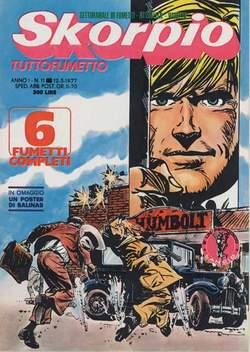 Copertina SKORPIO ANNO  1 n.11 - SKORPIO 1977            11, EDITORIALE AUREA