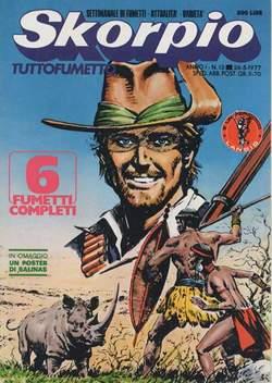 Copertina SKORPIO ANNO  1 n.13 - SKORPIO 1977            13, EDITORIALE AUREA