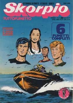 Copertina SKORPIO ANNO  1 n.16 - SKORPIO 1977            16, EDITORIALE AUREA