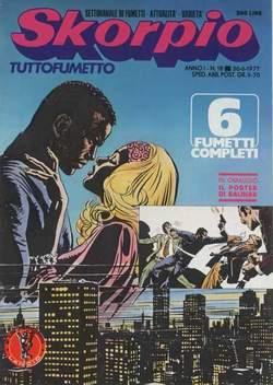 Copertina SKORPIO ANNO  1 n.18 - SKORPIO 1977            18, EDITORIALE AUREA