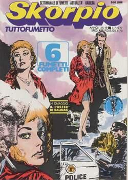 Copertina SKORPIO ANNO  1 n.19 - SKORPIO 1977            19, EDITORIALE AUREA