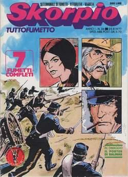 Copertina SKORPIO ANNO  1 n.26 - SKORPIO 1977            26, EDITORIALE AUREA