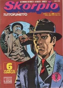 Copertina SKORPIO ANNO  1 n.31 - SKORPIO 1977            31, EDITORIALE AUREA