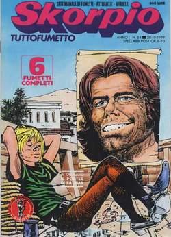 Copertina SKORPIO ANNO  1 n.34 - SKORPIO 1977            34, EDITORIALE AUREA