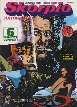 Copertina SKORPIO ANNO  1 n.35 - SKORPIO 1977            35, EDITORIALE AUREA