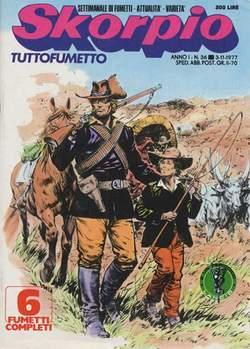 Copertina SKORPIO ANNO  1 n.36 - SKORPIO 1977            36, EDITORIALE AUREA