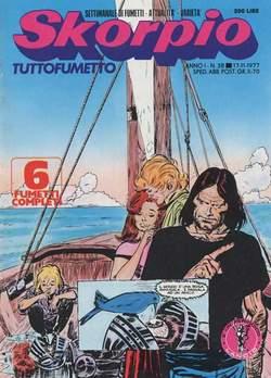 Copertina SKORPIO ANNO  1 n.38 - SKORPIO 1977            38, EDITORIALE AUREA