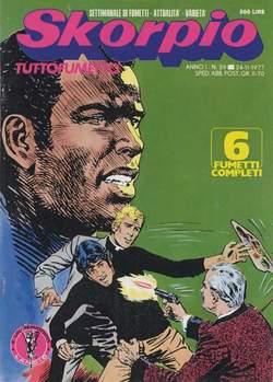 Copertina SKORPIO ANNO  1 n.39 - SKORPIO 1977            39, EDITORIALE AUREA