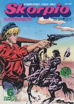 Copertina SKORPIO ANNO  1 n.40 - SKORPIO 1977            40, EDITORIALE AUREA