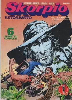 Copertina SKORPIO ANNO  1 n.41 - SKORPIO 1977            41, EDITORIALE AUREA