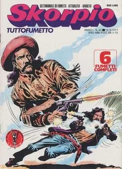 Copertina SKORPIO ANNO  1 n.42 - SKORPIO 1977            42, EDITORIALE AUREA