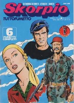Copertina SKORPIO ANNO  1 n.44 - SKORPIO 1977            44, EDITORIALE AUREA