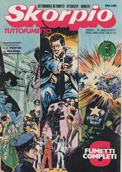 Copertina SKORPIO ANNO  1 n.4 - SKORPIO 1977             4, EDITORIALE AUREA