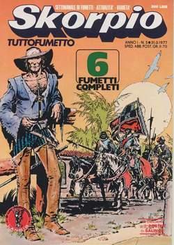 Copertina SKORPIO ANNO  1 n.5 - SKORPIO 1977             5, EDITORIALE AUREA