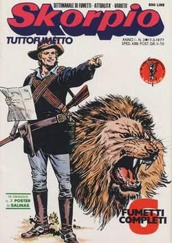 Copertina SKORPIO ANNO  1 n.3 - SKORPIO 1977             3, EDITORIALE AUREA