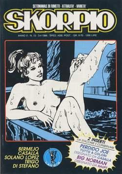 Copertina SKORPIO ANNO 10 n.13 - SKORPIO 1986            13, EDITORIALE AUREA