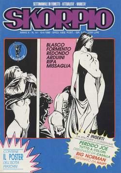 Copertina SKORPIO ANNO 10 n.14 - SKORPIO 1986            14, EDITORIALE AUREA