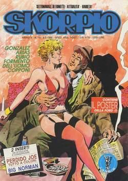 Copertina SKORPIO ANNO 10 n.18 - SKORPIO 1986            18, EDITORIALE AUREA