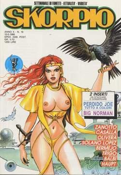 Copertina SKORPIO ANNO 10 n.19 - SKORPIO 1986            19, EDITORIALE AUREA
