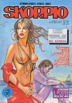 Copertina SKORPIO ANNO 10 n.22 - SKORPIO 1986            22, EDITORIALE AUREA