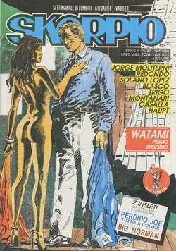 Copertina SKORPIO ANNO 10 n.23 - SKORPIO 1986            23, EDITORIALE AUREA