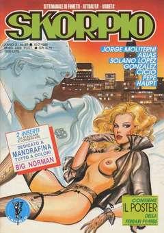 Copertina SKORPIO ANNO 10 n.27 - SKORPIO 1986            27, EDITORIALE AUREA
