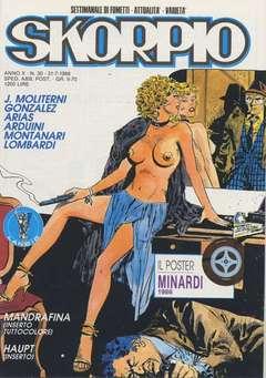 Copertina SKORPIO ANNO 10 n.30 - SKORPIO 1986            30, EDITORIALE AUREA