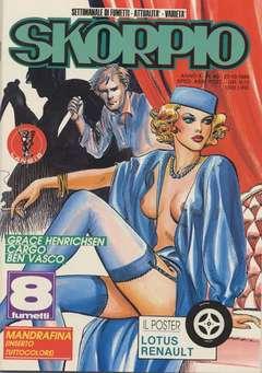 Copertina SKORPIO ANNO 10 n.42 - SKORPIO 1986            42, EDITORIALE AUREA