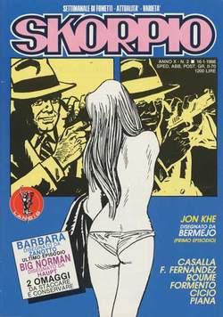 Copertina SKORPIO ANNO 10 n.2 - SKORPIO 1986             2, EDITORIALE AUREA