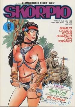 Copertina SKORPIO ANNO 10 n.8 - SKORPIO 1986             8, EDITORIALE AUREA