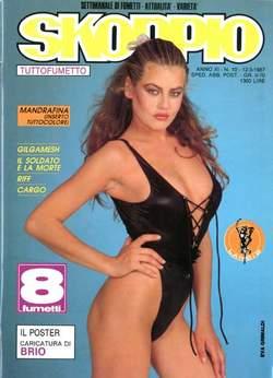 Copertina SKORPIO ANNO 11 n.10 - SKORPIO 1987            10, EDITORIALE AUREA
