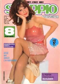 Copertina SKORPIO ANNO 11 n.13 - SKORPIO 1987            13, EDITORIALE AUREA