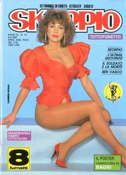 Copertina SKORPIO ANNO 11 n.14 - SKORPIO 1987            14, EDITORIALE AUREA