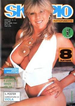 Copertina SKORPIO ANNO 11 n.15 - SKORPIO 1987            15, EDITORIALE AUREA