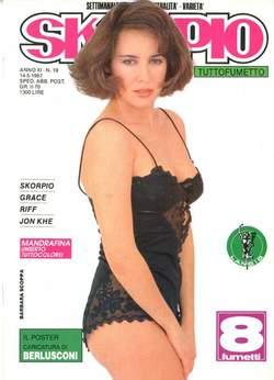 Copertina SKORPIO ANNO 11 n.19 - SKORPIO 1987            19, EDITORIALE AUREA
