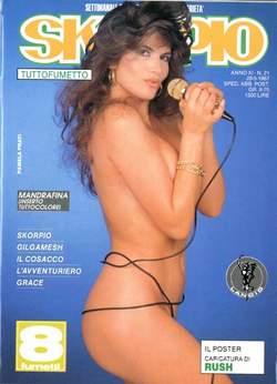 Copertina SKORPIO ANNO 11 n.21 - SKORPIO 1987            21, EDITORIALE AUREA