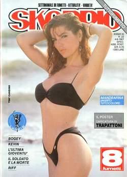Copertina SKORPIO ANNO 11 n.22 - SKORPIO 1987            22, EDITORIALE AUREA