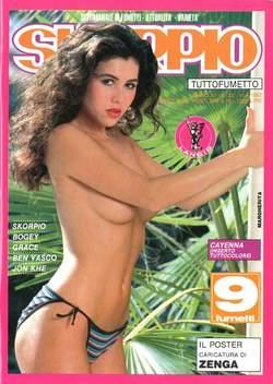 Copertina SKORPIO ANNO 11 n.23 - SKORPIO 1987            23, EDITORIALE AUREA